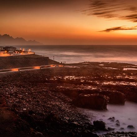 Gran Canaria Agaete im Sonnenuntergang