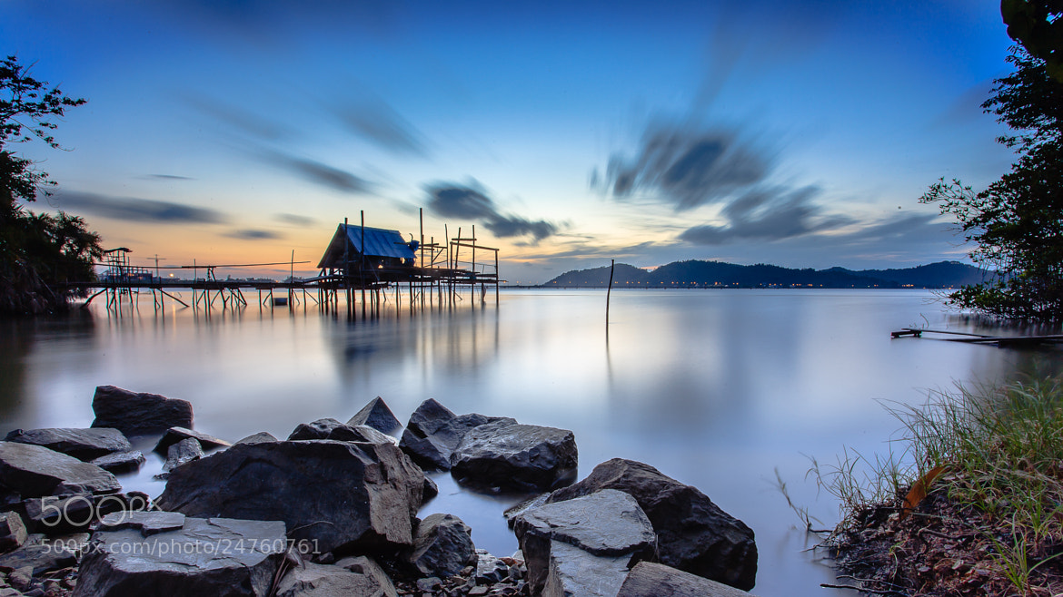 Photograph Slow cloud & Lake by Phukarn Photo on 500px
