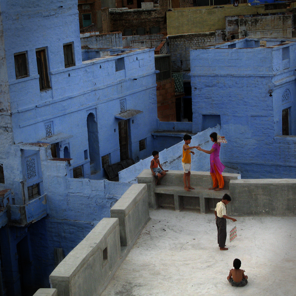 Photograph Jodhpur's roof by philippe launois on 500px
