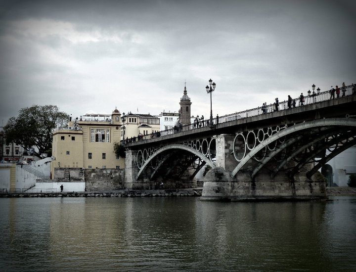 Photograph Puente Triana by Ana Alonso on 500px