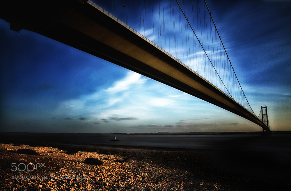 Photograph Humber Bridge by Sean Morgan on 500px