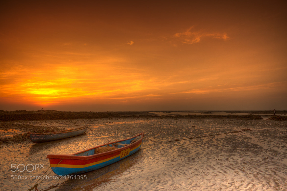 Photograph Sunset at beach by Prasanchandra Lakhani on 500px