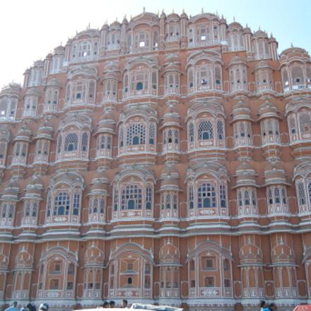 Pink palace, Jaipur, India, Fujifilm FinePix Z33WP