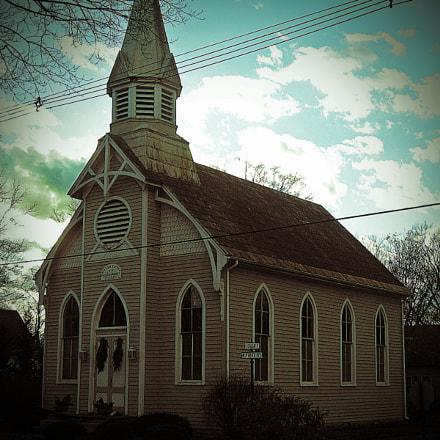 New Harmony Indiana Church, Canon POWERSHOT A560