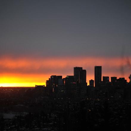 Early morning Sunrise, Nikon D700, AF Zoom-Nikkor 80-200mm f/2.8 ED