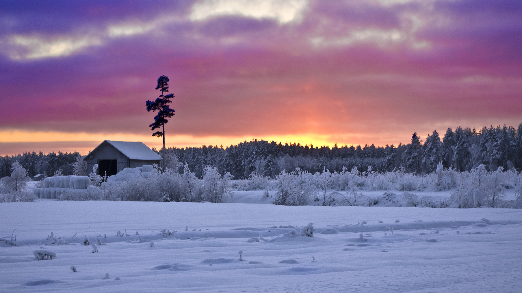 Photograph Old Barn At Sunset by Sten Wiklund on 500px