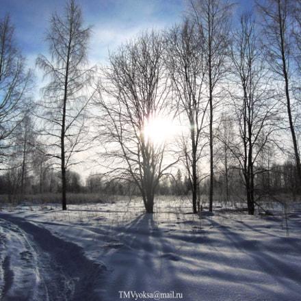 Февральский рассвет, Nikon COOLPIX S9200