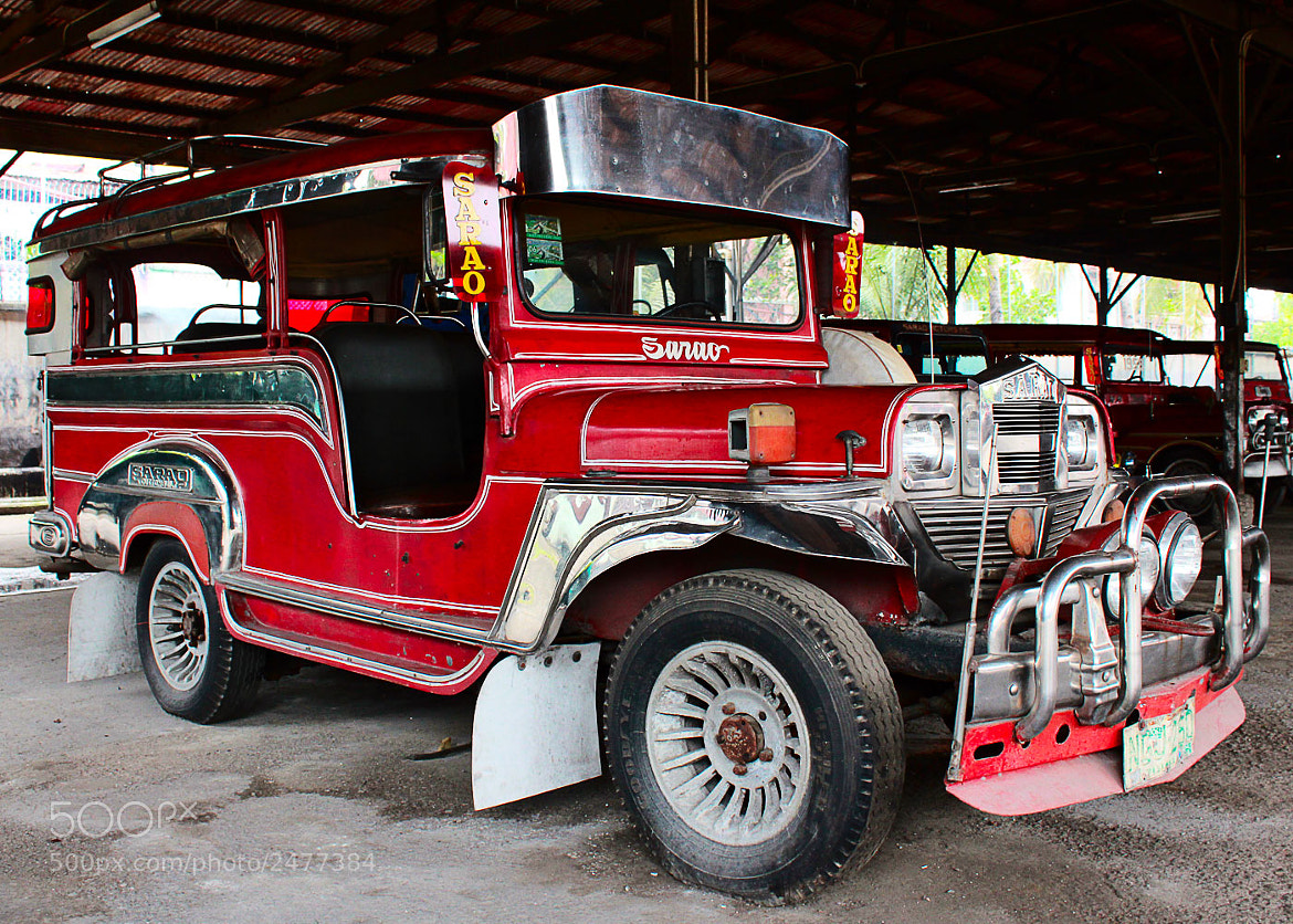 Photograph Sarao Jeepney by Dino Canlas on 500px