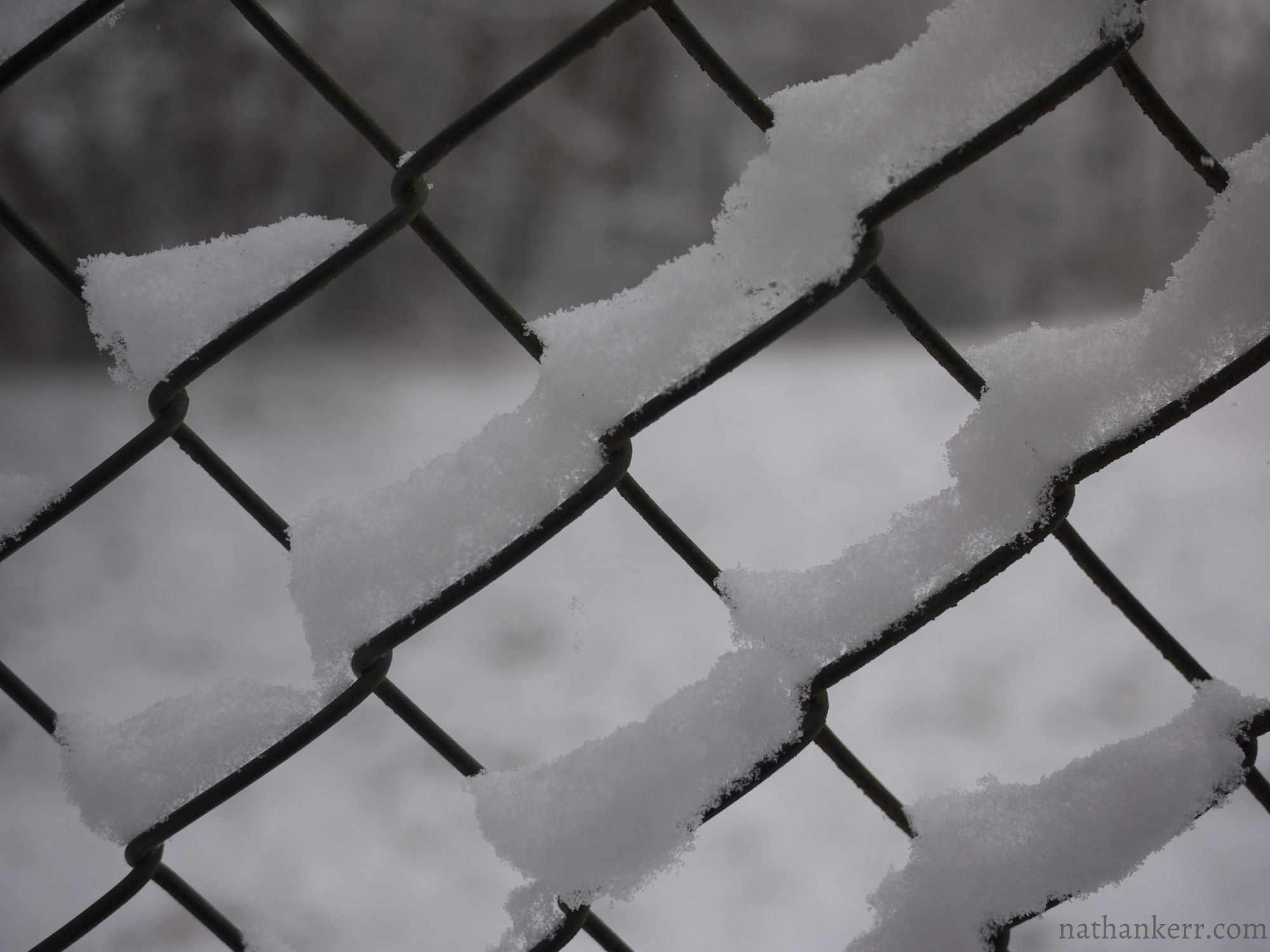 Photograph Snow Fence by Nathan Kerr on 500px