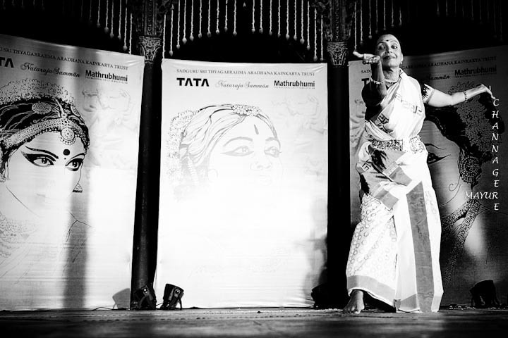 Photograph Bharati Shivaji - Mohiniyattam by Mayur Channagere on 500px