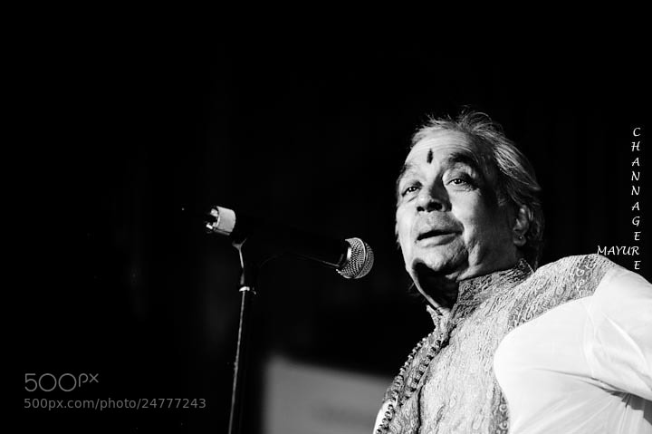 Photograph pt.Birju Maharaj - Kathak by Mayur Channagere on 500px
