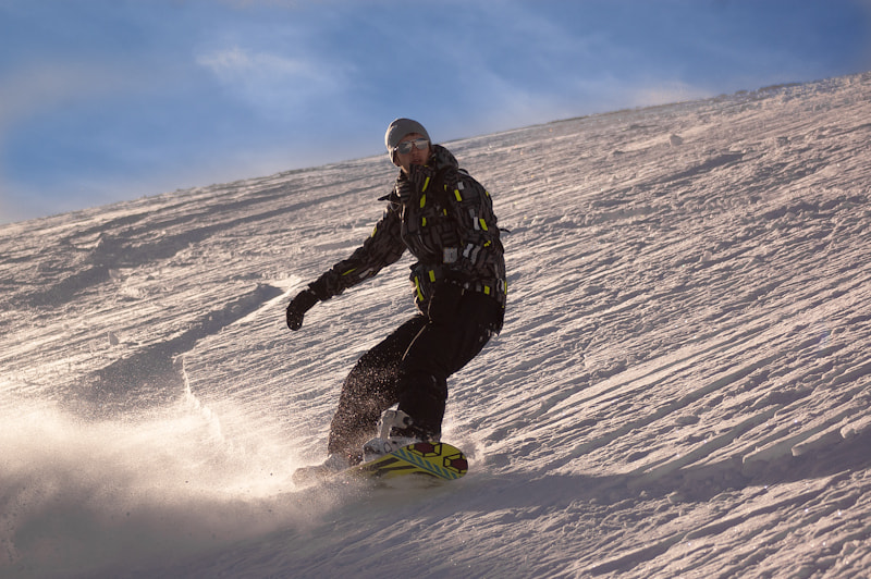 Photograph Snowboard moment by sander chauvel on 500px