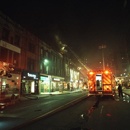 Fire fighting, Nikon D750, AF Nikkor 20mm f/2.8