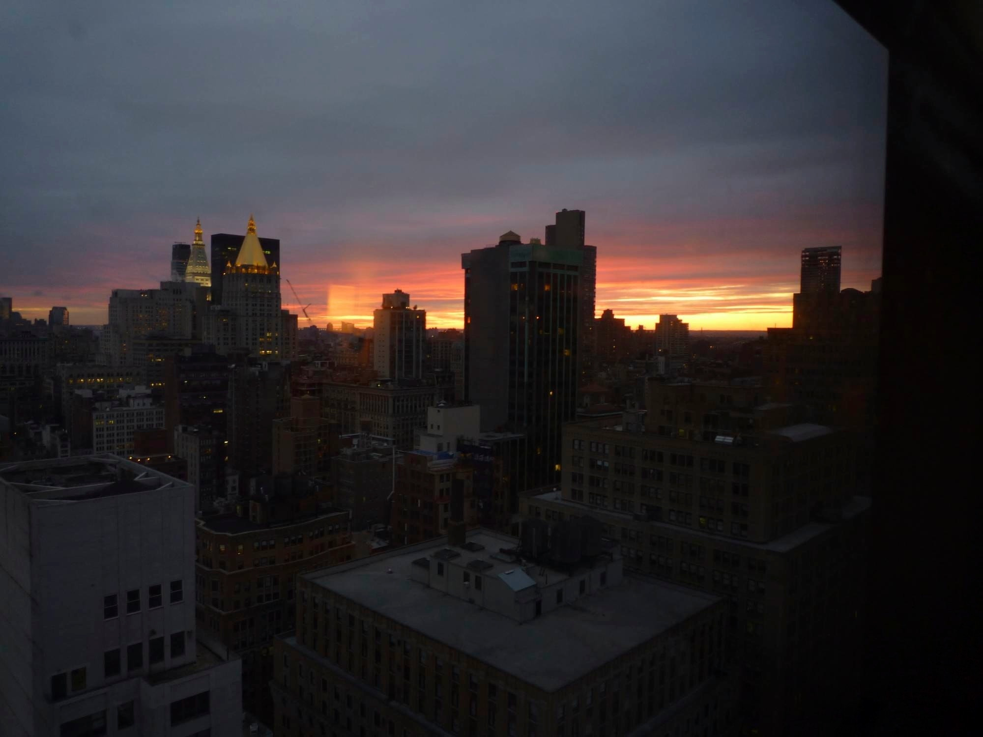 Photograph NYC skyline at dusk by M. Armitage on 500px