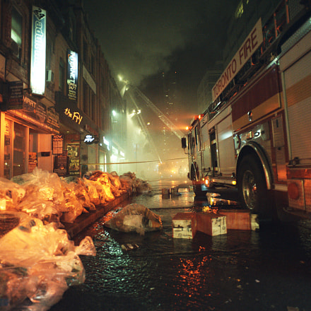 Fire fighting, Nikon D750