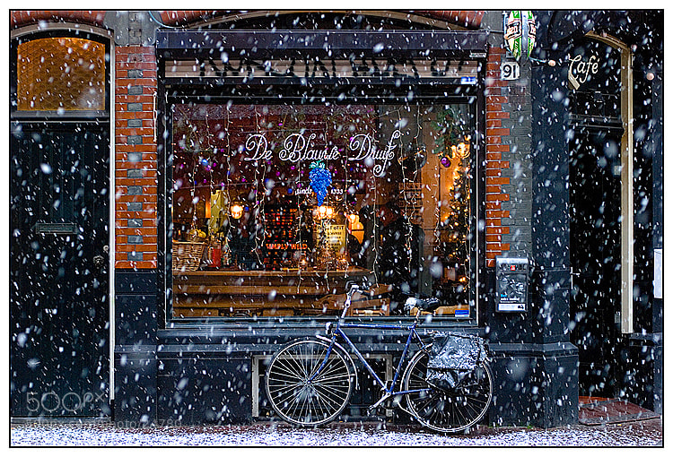 Photograph Snow in A'dam by Aleksandr Stzhalkovski on 500px