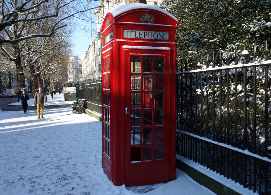 """Nothing burns like the cold"". London by Sandra  on 500px.com"