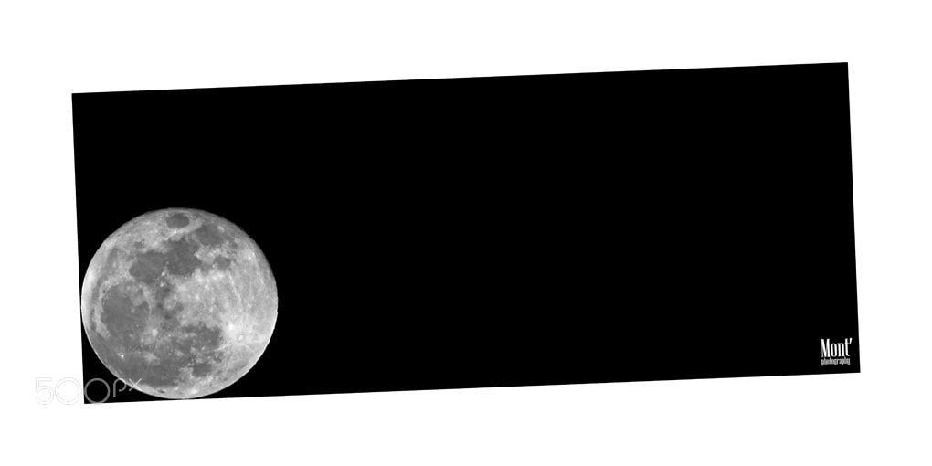 Photograph the gravity of the moon by Fabio Montalto on 500px