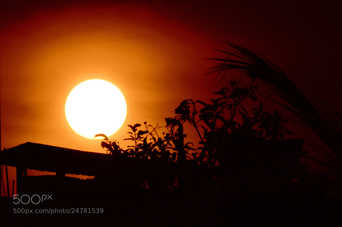 Photograph Sunset. by Ravi S R on 500px