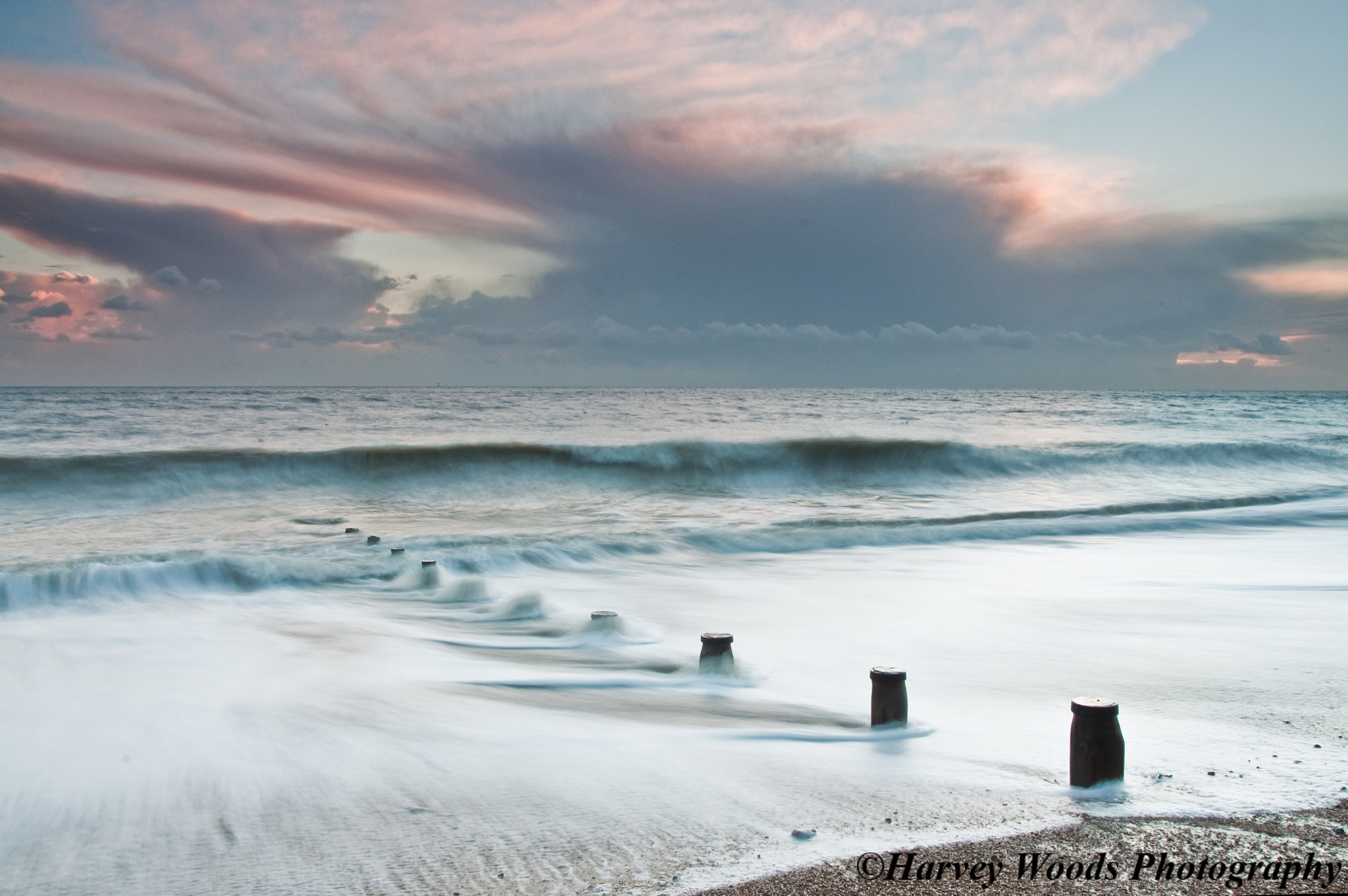 Photograph Long Exposure Beach Sunset  by Harvey Woods on 500px
