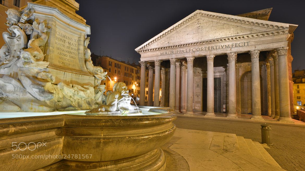 Photograph The Pantheon in Rome by Angelo Ferraris on 500px