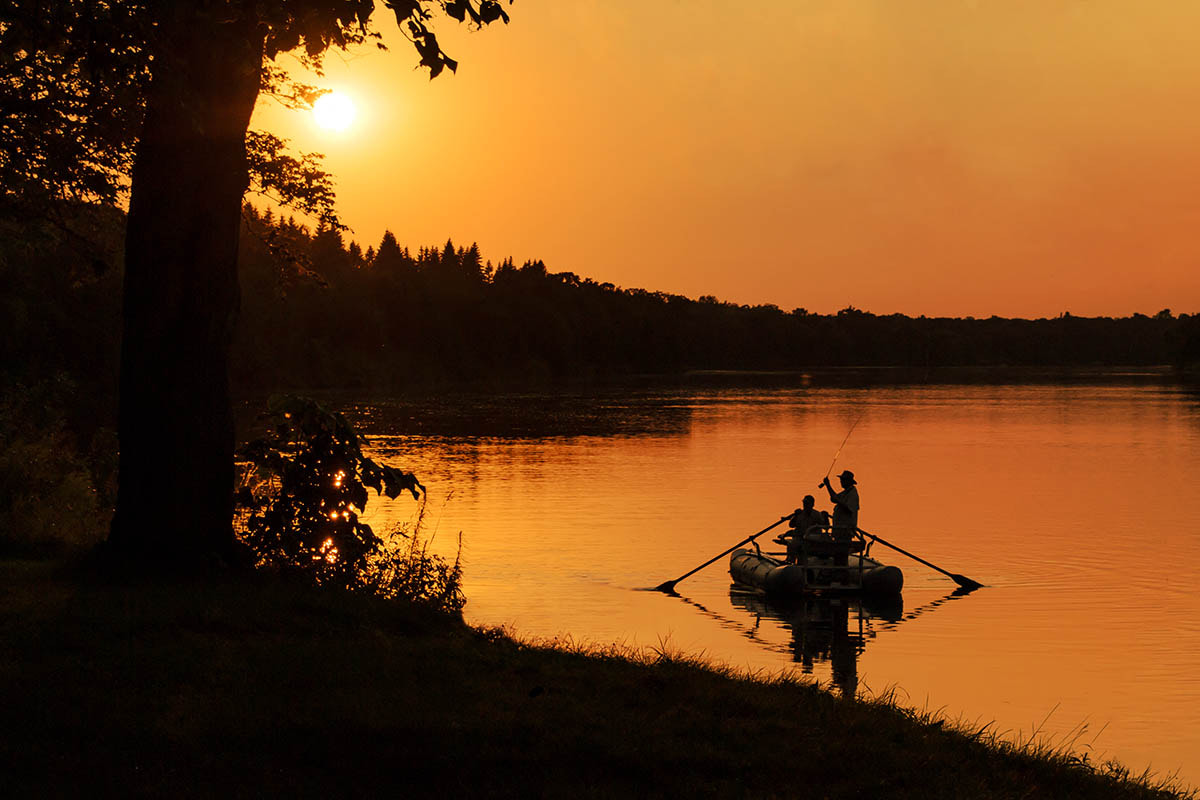 Photograph Fishing at Sunset by Rich Thul on 500px