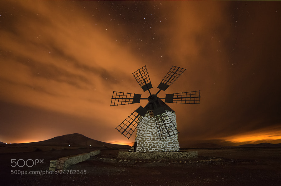 Photograph Molino de Tefía by Juan Antonio Santana on 500px
