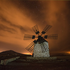Molino de Tefía by Juan Antonio Santana (juances)) on 500px.com