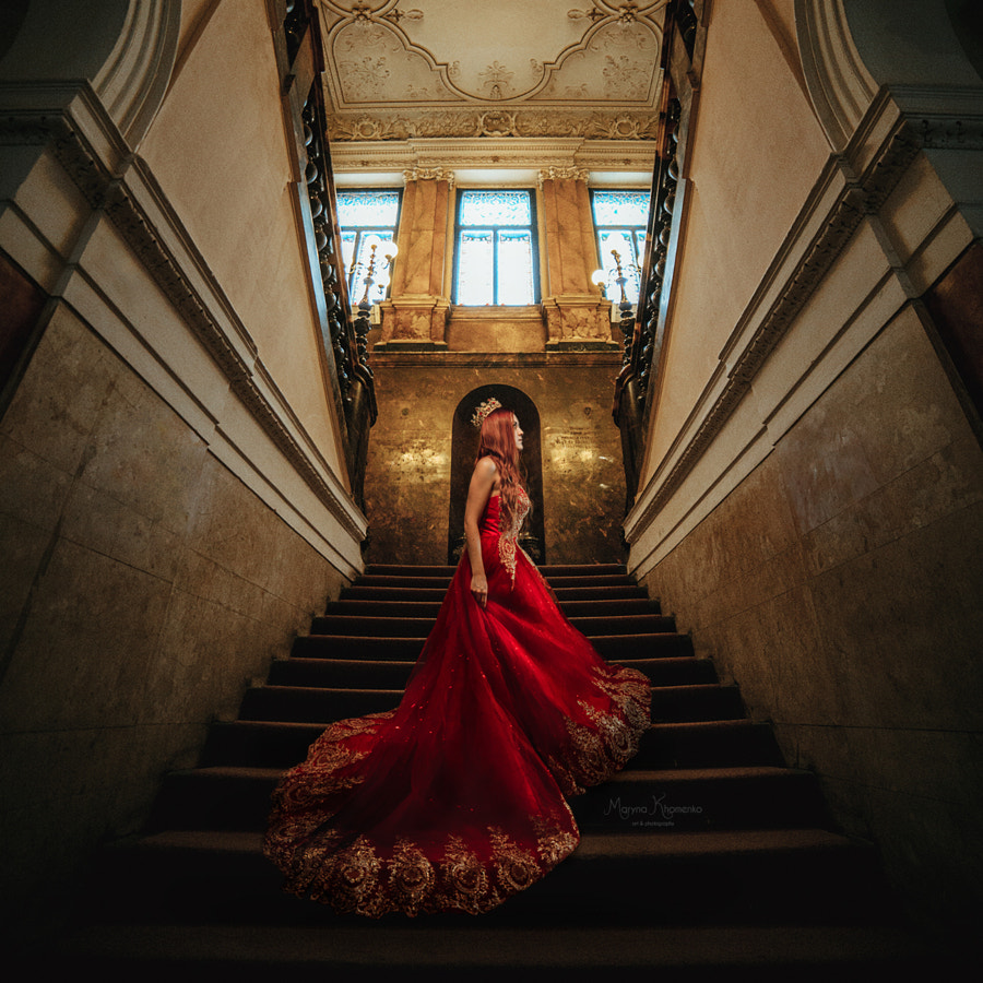 Crimson queen de Maryna Khomenko sur500px.com