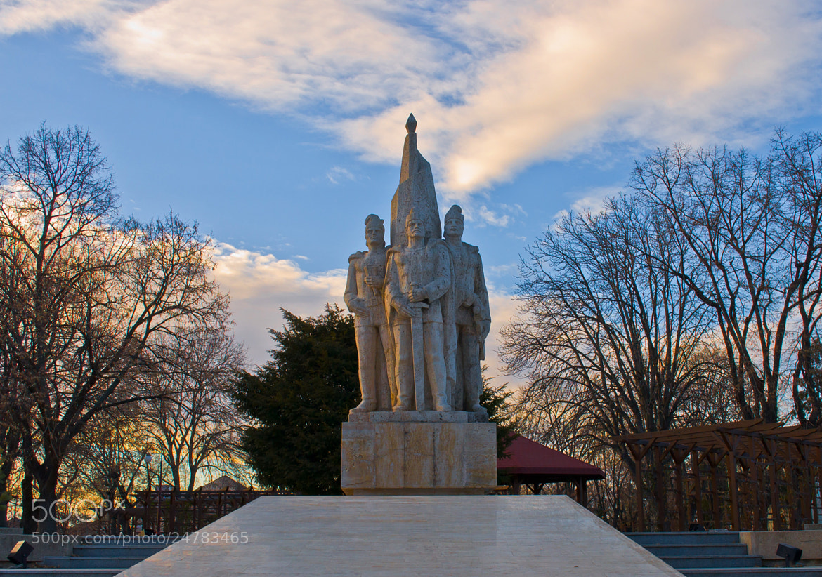 "Photograph ""Buzesti Brothers"" Monument by Livia  Firincă on 500px"
