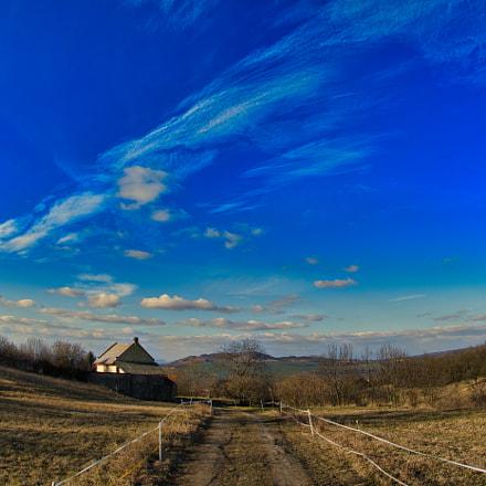 České středohoří, Nikon D7500, Sigma 15mm F2.8 EX Diagonal Fisheye