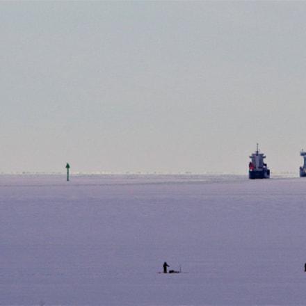 On the ice, RICOH PENTAX K-1