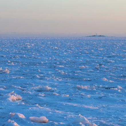 Frozen Sea, Canon EOS 1200D