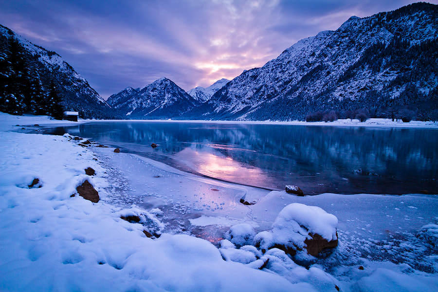 Photograph dawn on ice by David Sonnweber on 500px