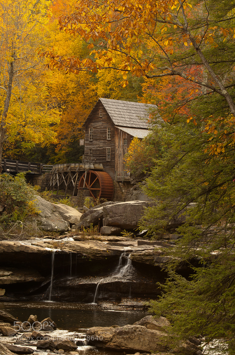 Photograph Babcock Mill WV by Mike Scott on 500px