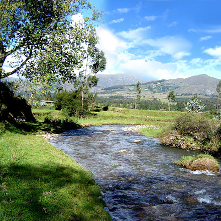 rio, paisaje, landscape, Sony DSC-S80