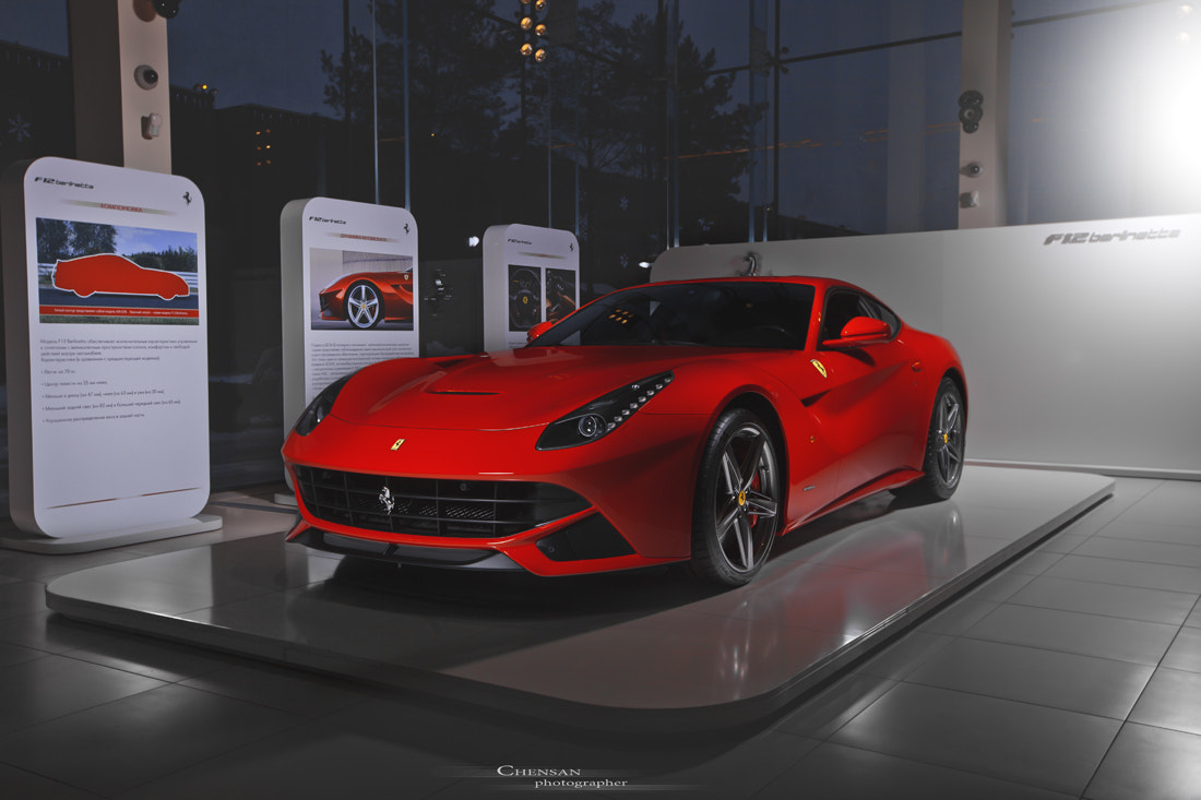 Photograph horse heart . Ferrari F12 Berlinetta . by Chensan by  Chensan on 500px