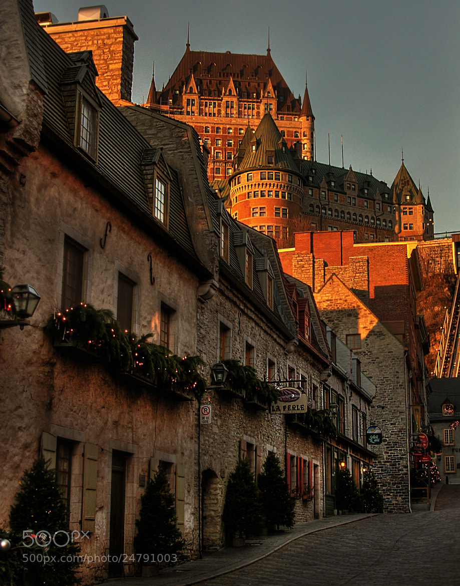 Photograph Quebec City by Heather Bashow on 500px