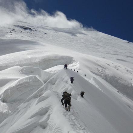 Climbing mountains is replete, Sony DSC-W70