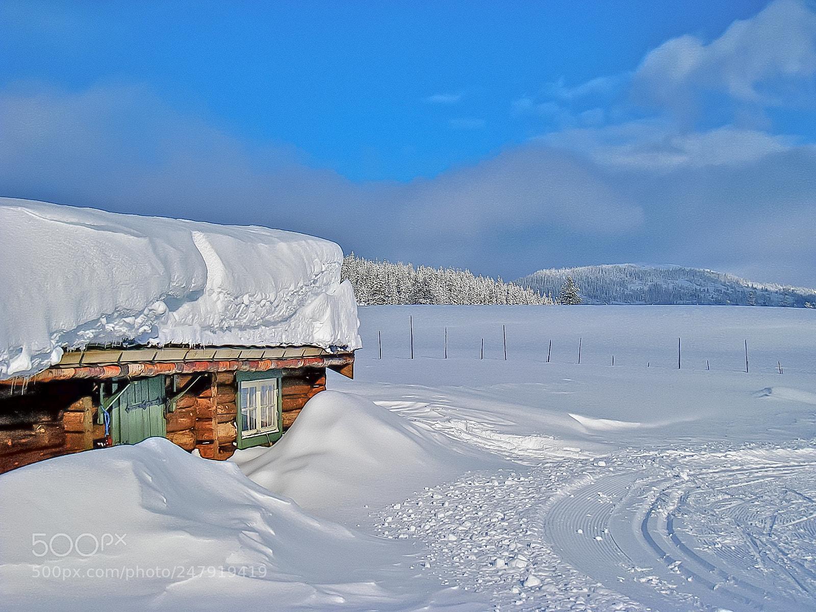 A winter remake, Canon DIGITAL IXUS 860 IS