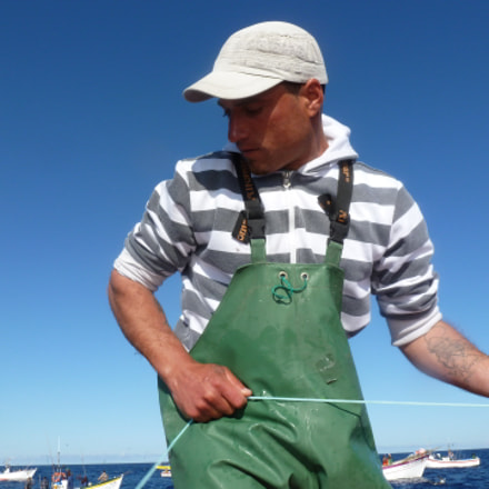 The fisherman, Panasonic DMC-TZ18