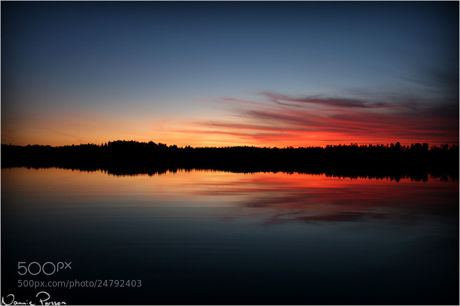 Photograph Sunset by Nannie Persson on 500px