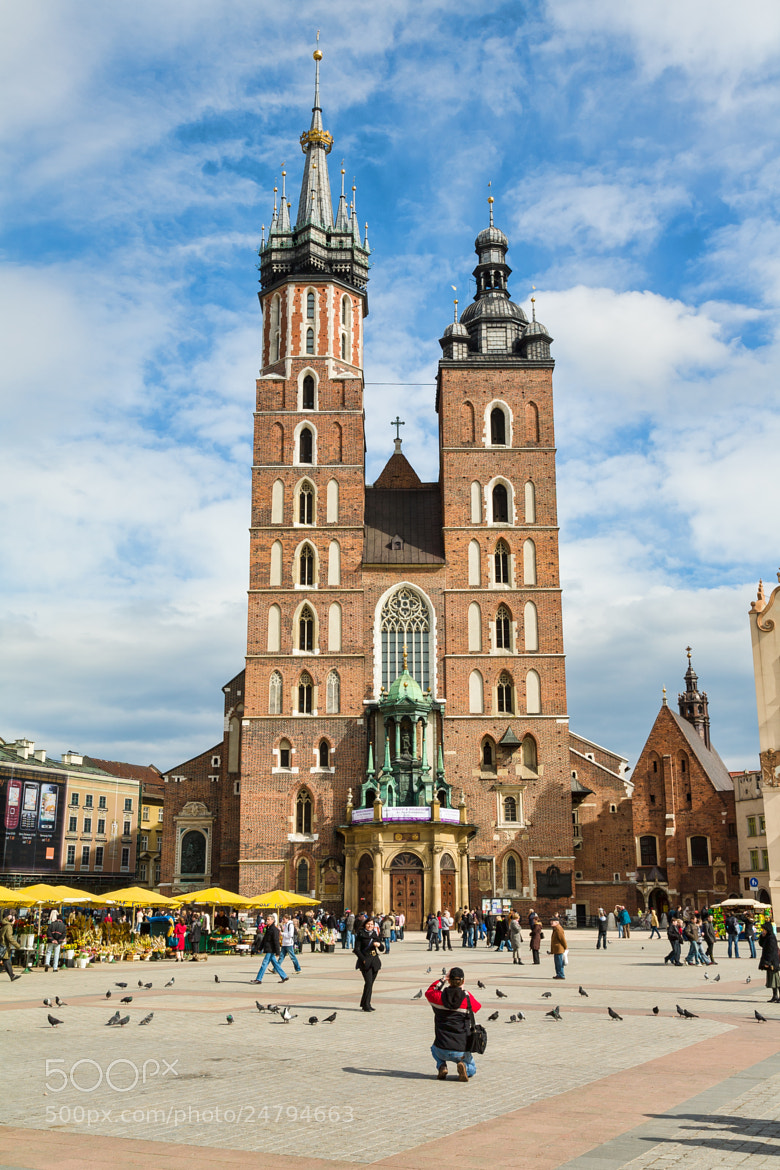 Photograph Mariacki Church by Bill McKelvie on 500px