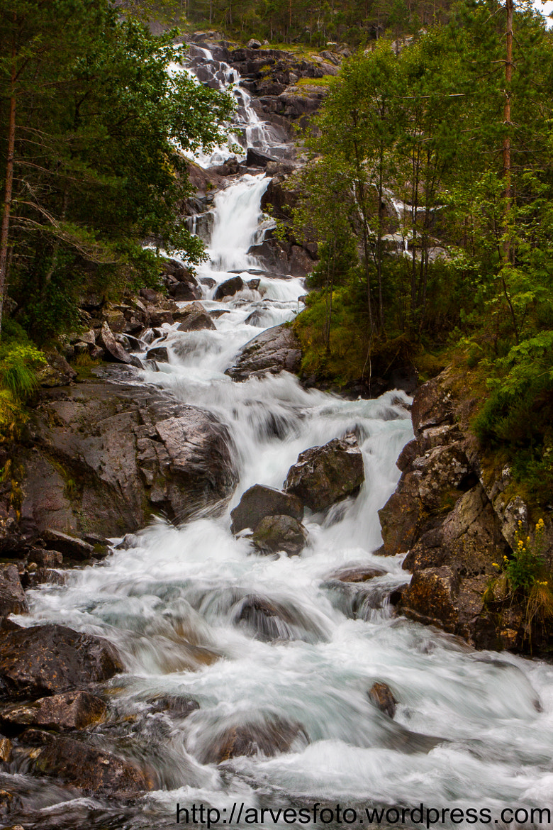 Photograph Langfoss in Norway by Arve Kvale Hansen on 500px
