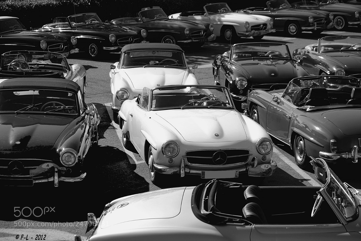 Photograph Mercedes 190 SL Meeting by Ferrari-live @ Franck on 500px