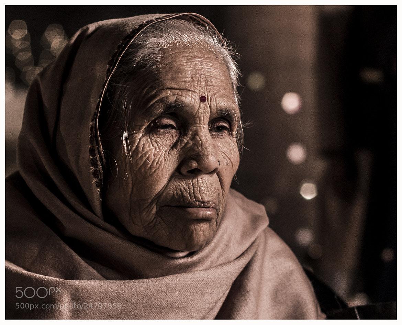 Photograph the old lady by Vijay Kumar on 500px