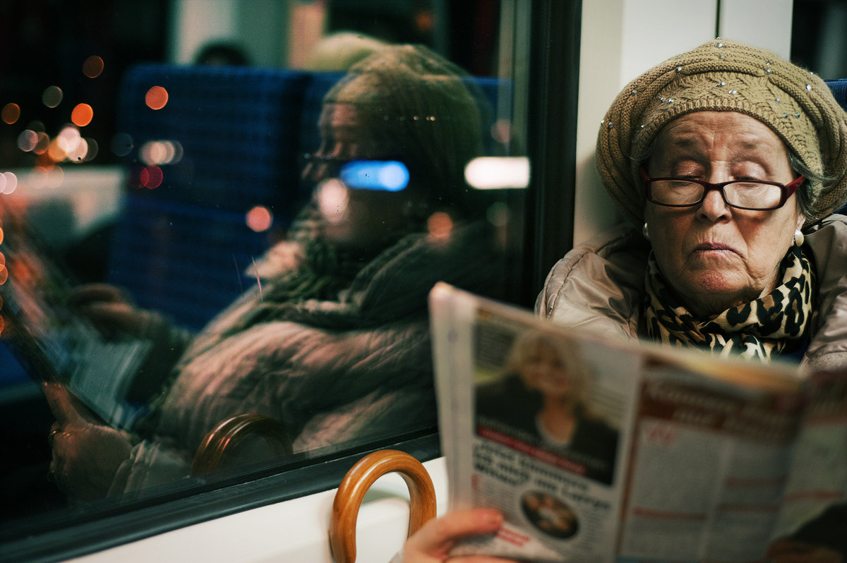 Photograph reading. by Patrick Woerner on 500px