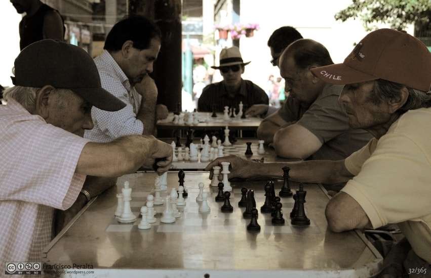 Photograph Chess games at Plaza de Armas by Francisco Peralta on 500px