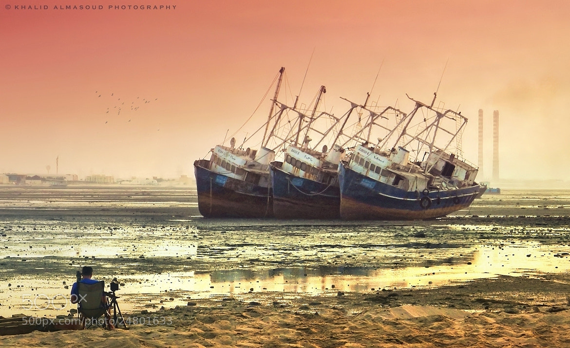 Photograph Deserted ships by Khalid Almasoud on 500px