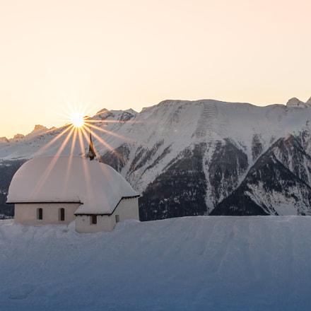 Church in the Swiss Mountain